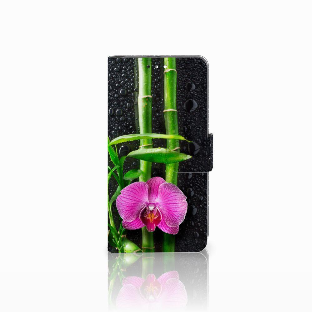 Honor 9 Boekhoesje Design Orchidee