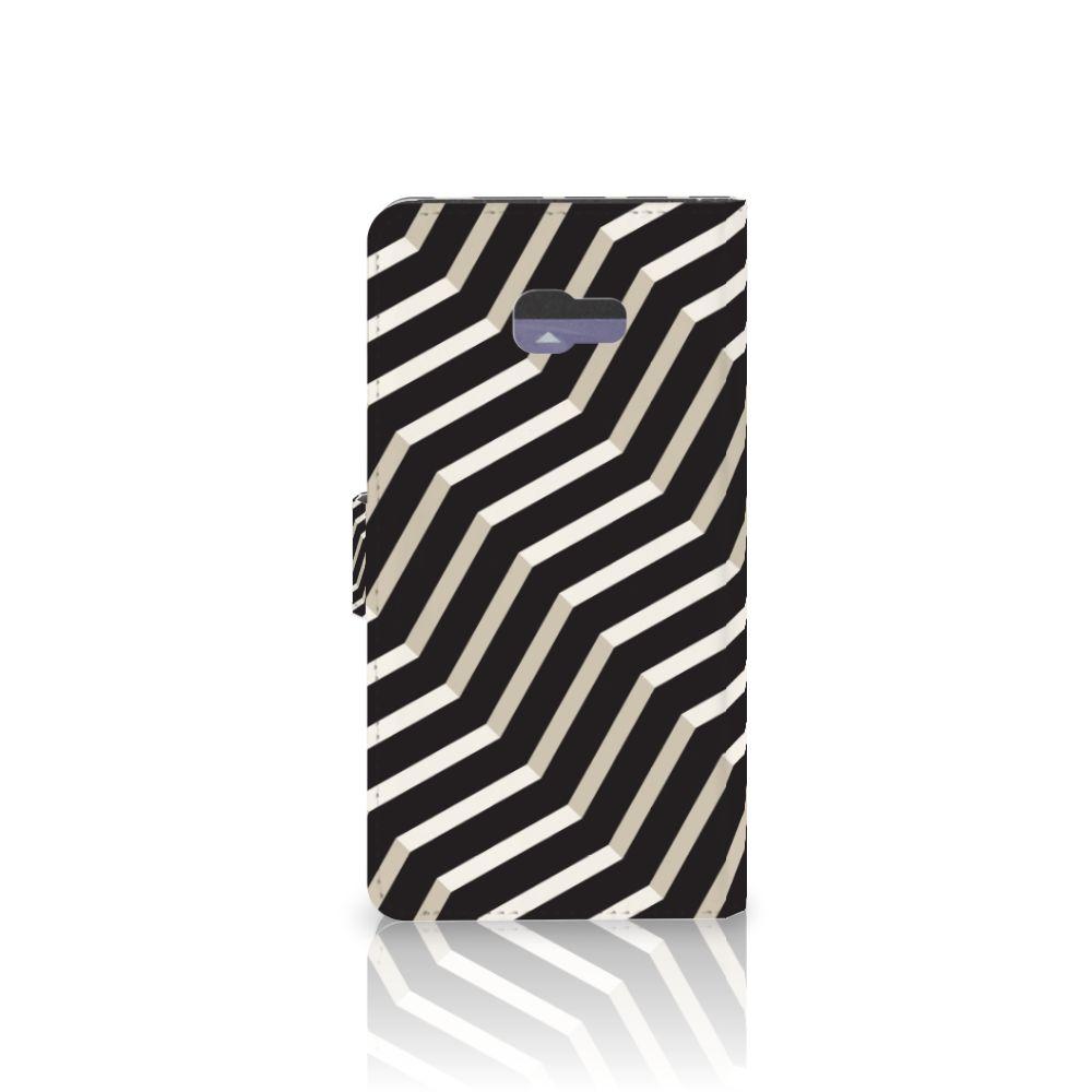 Samsung Galaxy A7 2017 Bookcase Illusion