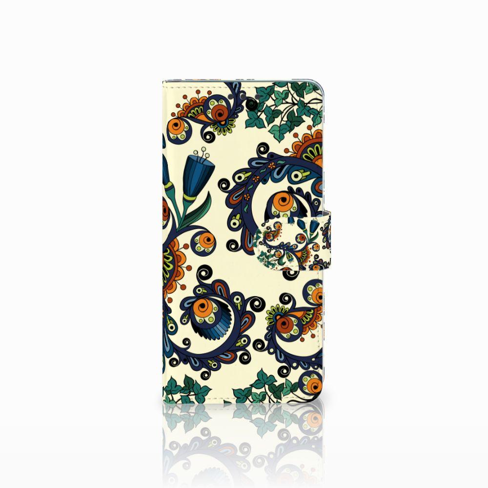 Wallet Case Huawei Mate 20 Barok Flower