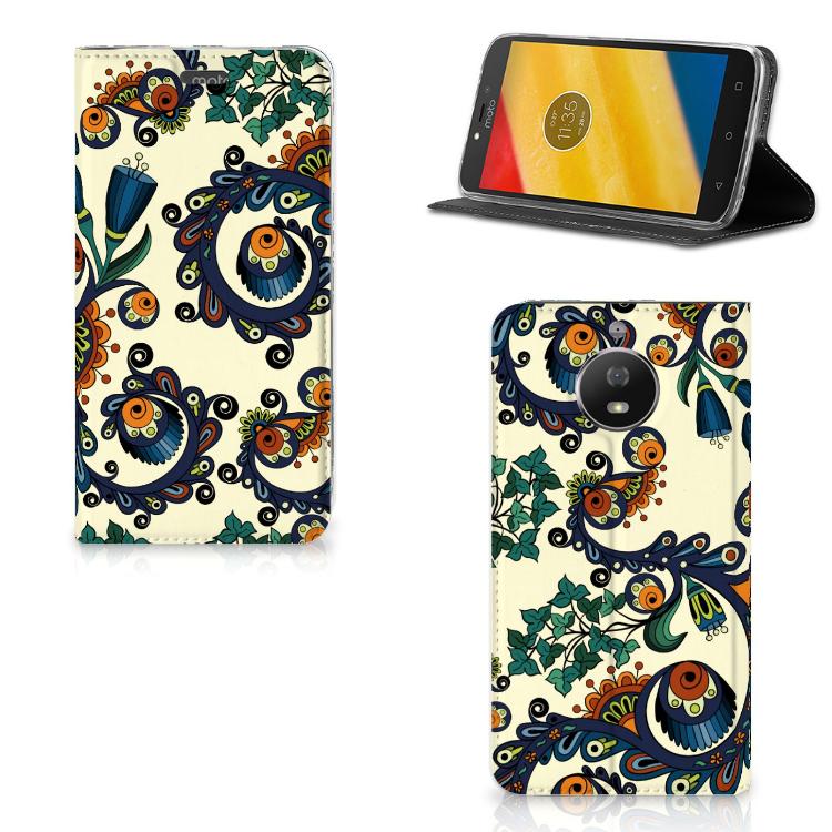 Telefoon Hoesje Motorola Moto G5S Barok Flower