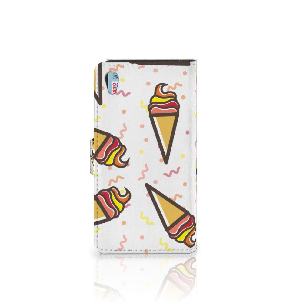 Sony Xperia Z2 Book Cover Icecream