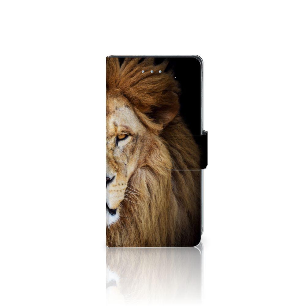 LG Nexus 5X Telefoonhoesje met Pasjes Leeuw