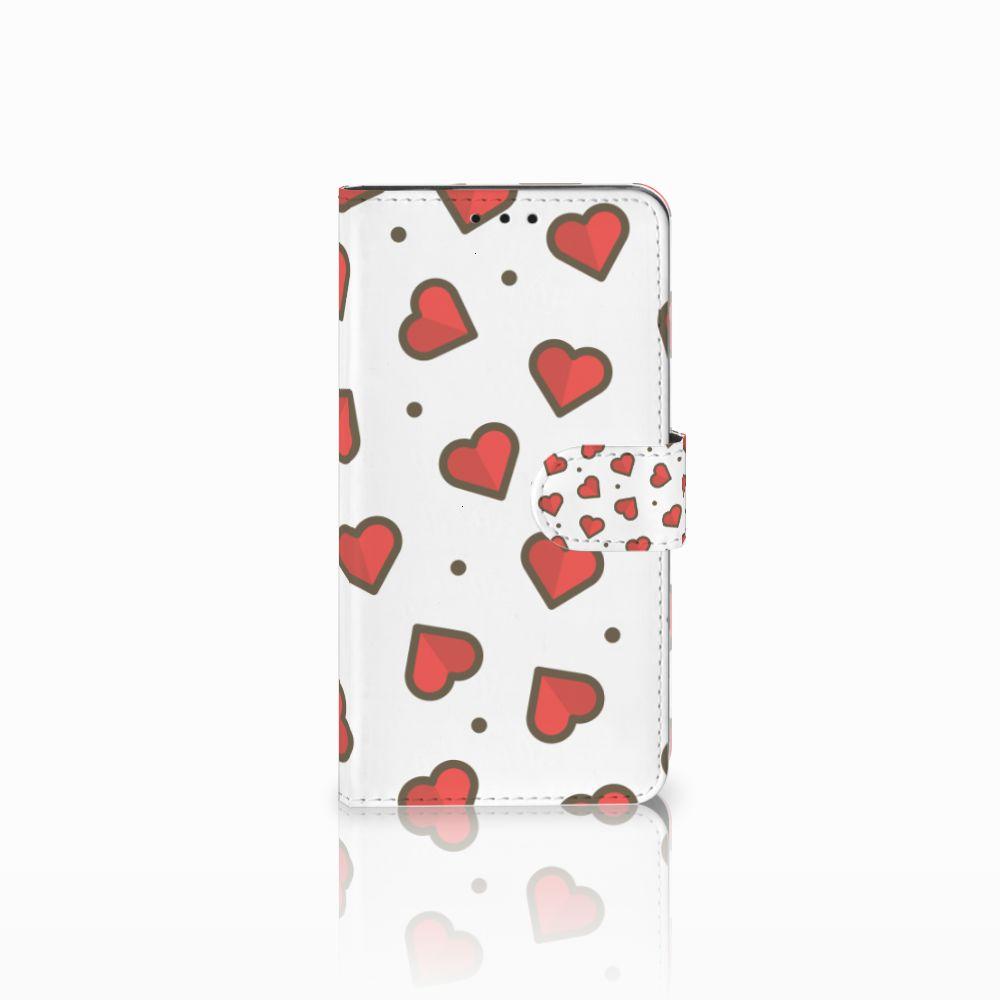 Huawei Honor 6X Boekhoesje Design Hearts