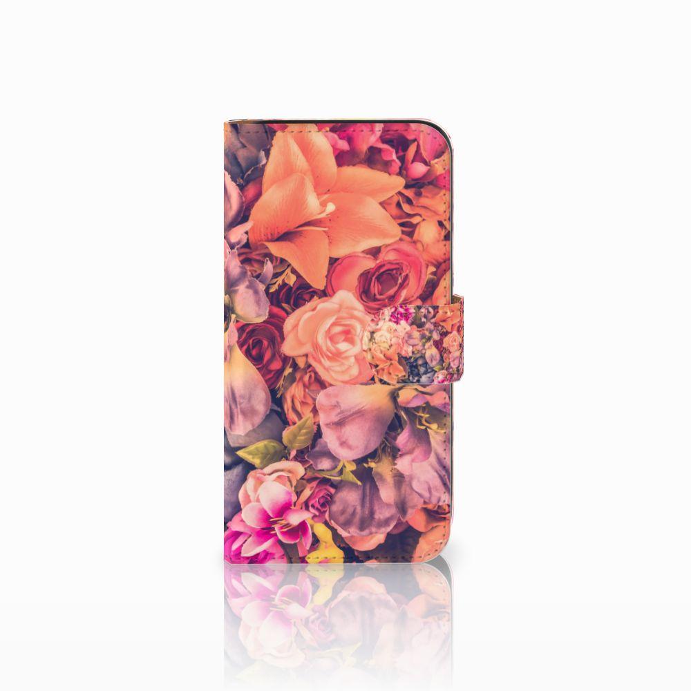 Samsung Galaxy E5 Boekhoesje Design Bosje Bloemen
