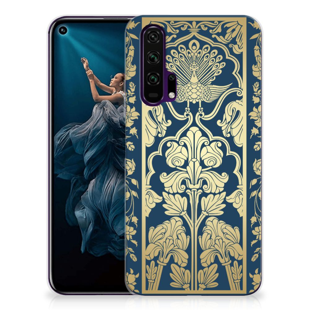Honor 20 Pro TPU Case Golden Flowers