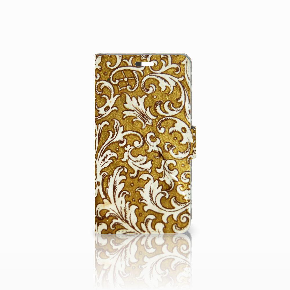 Wallet Case Huawei P9 Plus Barok Goud