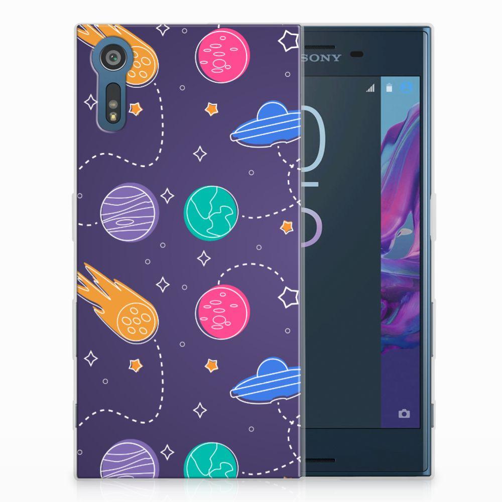 Sony Xperia XZs | XZ Uniek TPU Hoesje Space