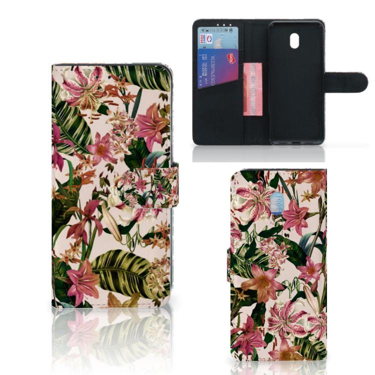 Xiaomi Redmi 8A Hoesje Flowers