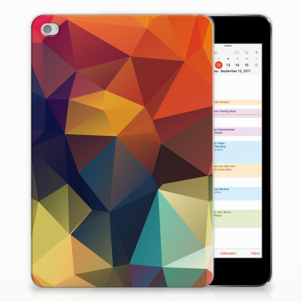 Apple iPad Mini 4   Mini 5 (2019) Back Cover Polygon Color