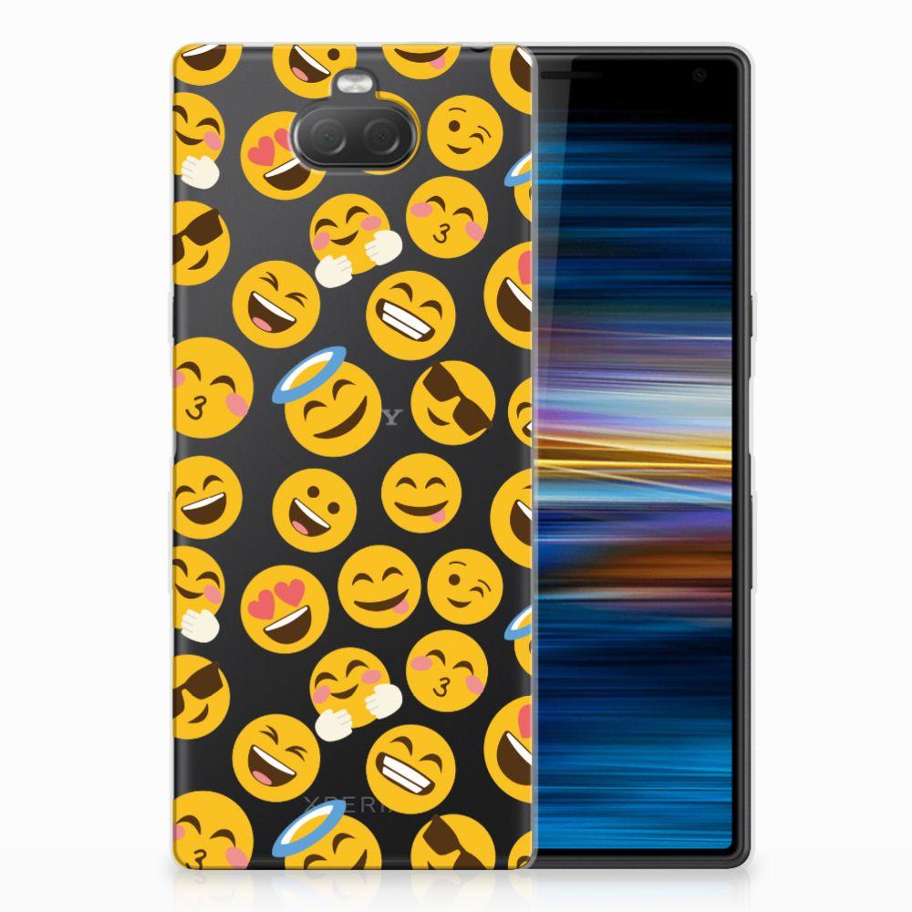 Sony Xperia 10 TPU bumper Emoji