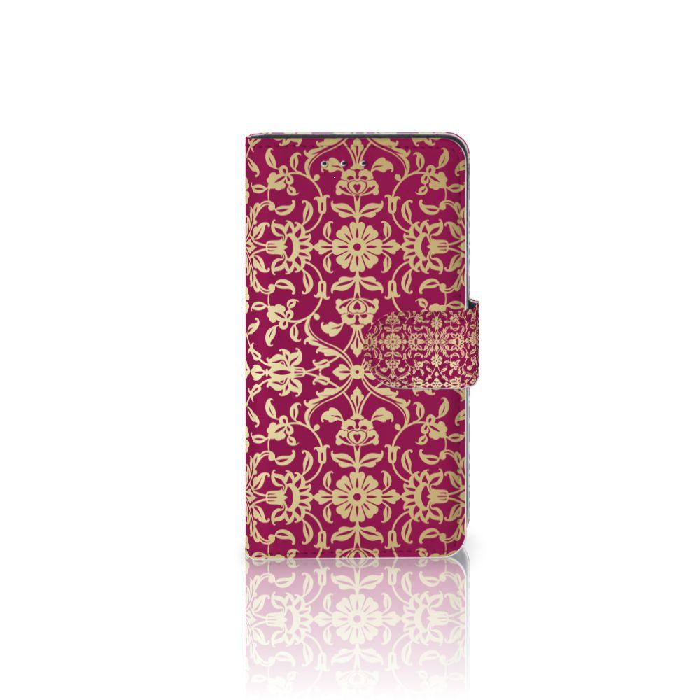 Motorola Moto G 3e Generatie Boekhoesje Design Barok Pink
