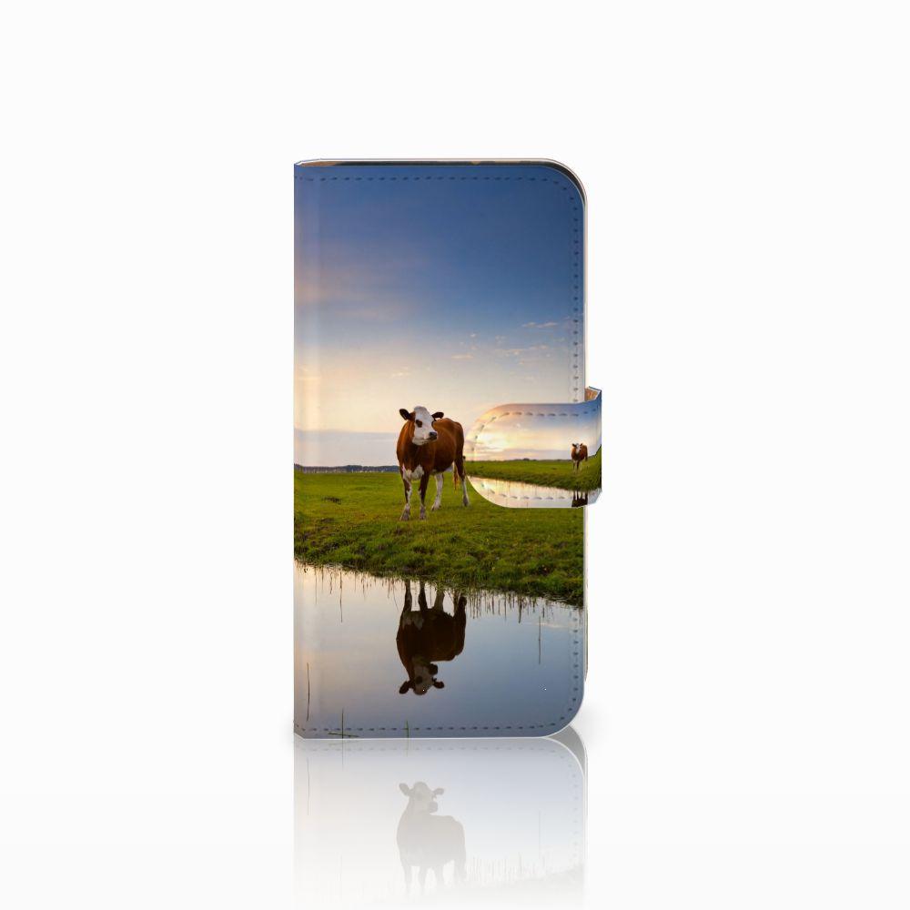 HTC One Mini 2 Boekhoesje Design Koe