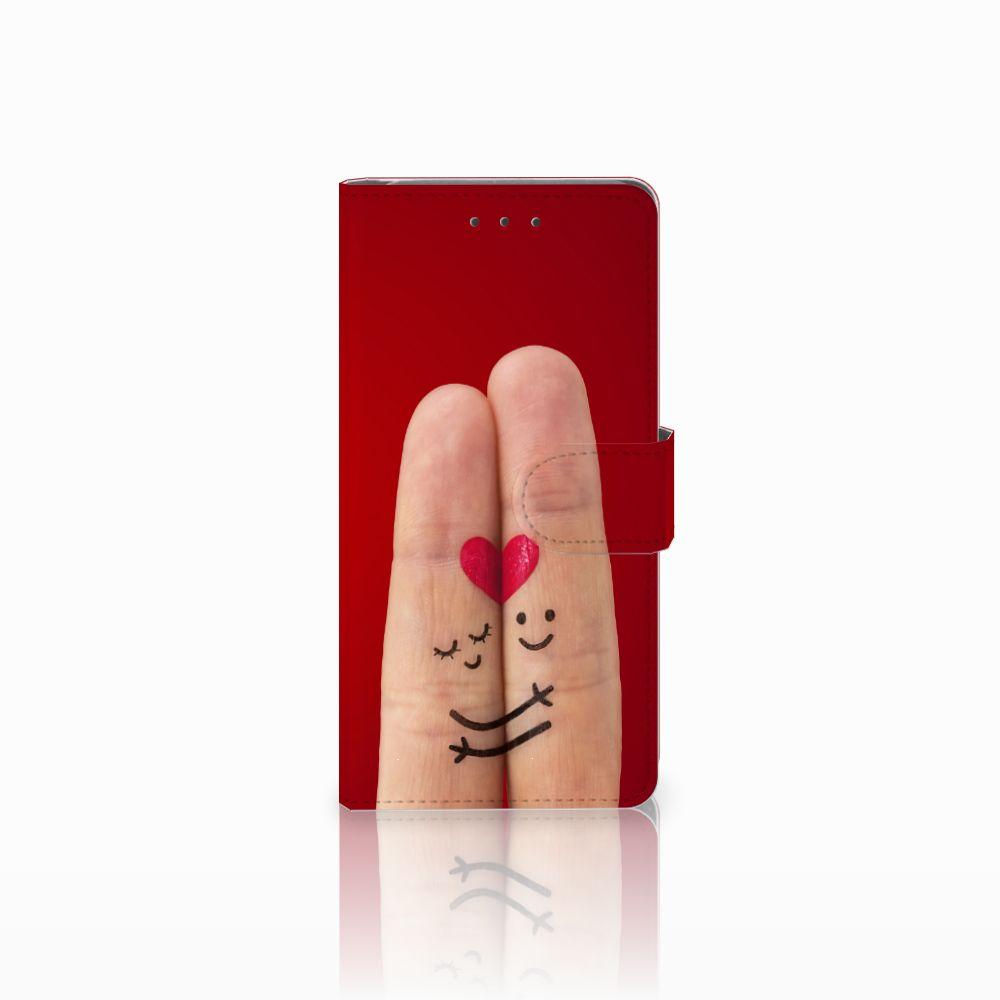 Samsung Galaxy Grand Prime | Grand Prime VE G531F Uniek Boekhoesje Liefde