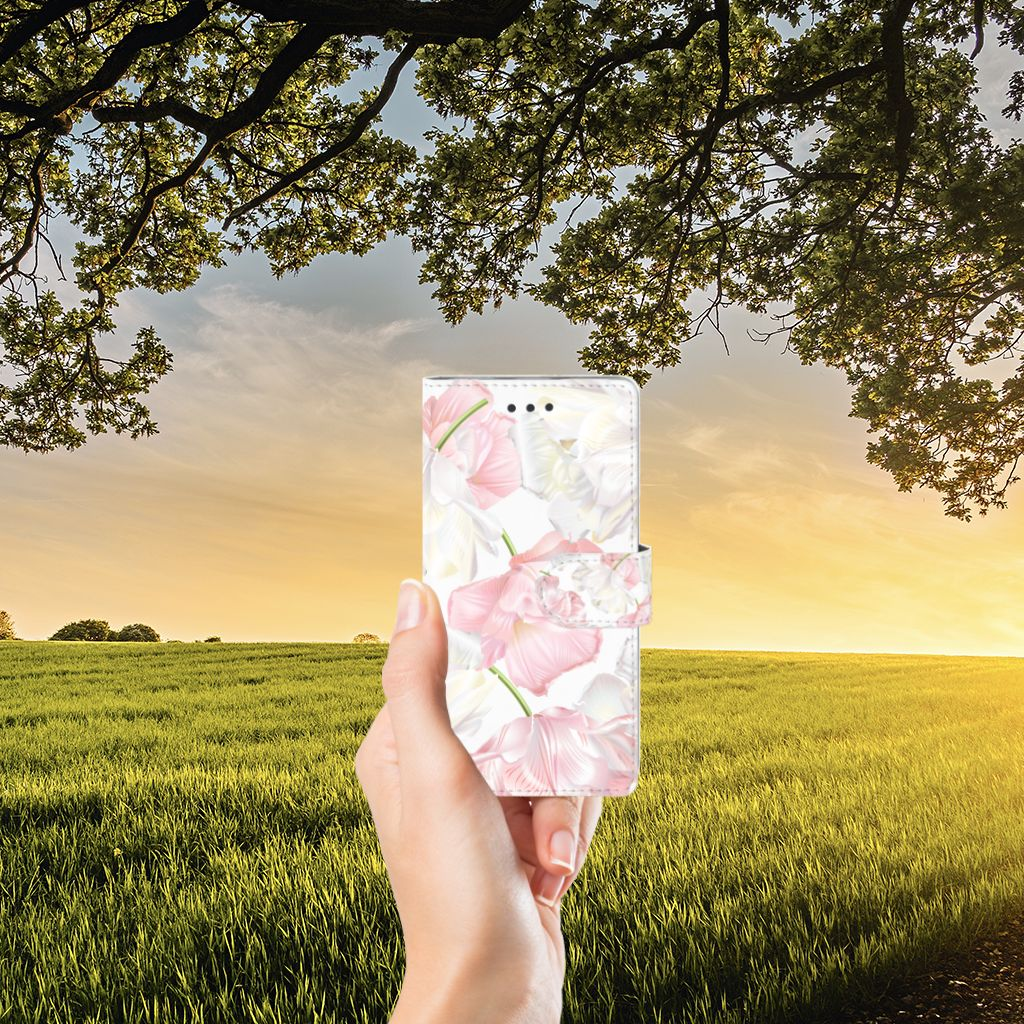 Huawei Ascend P8 Lite Boekhoesje Design Lovely Flowers