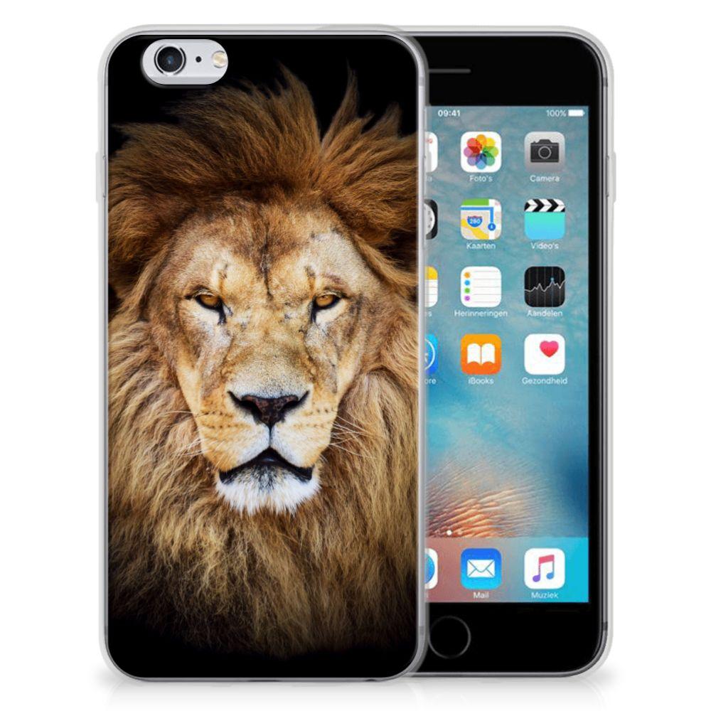 Apple iPhone 6   6s TPU Hoesje Leeuw