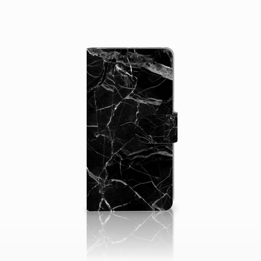 LG G4 Uniek Boekhoesje Marmer Zwart