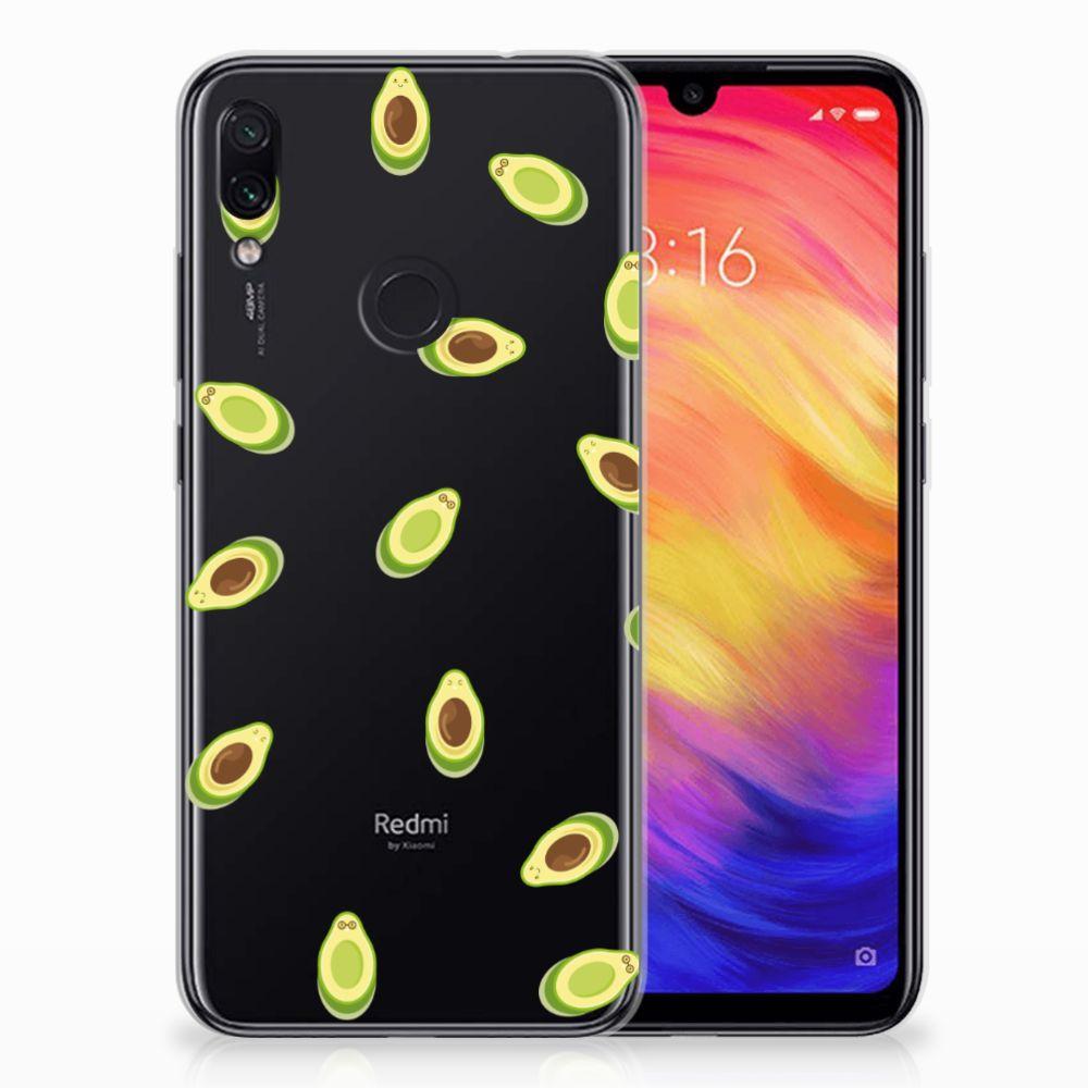 Xiaomi Redmi Note 7 Siliconen Case Avocado