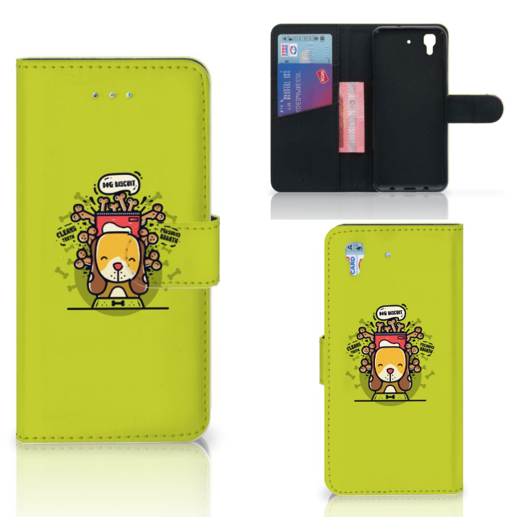 Honor 4A   Y6 Leuk Hoesje Doggy Biscuit
