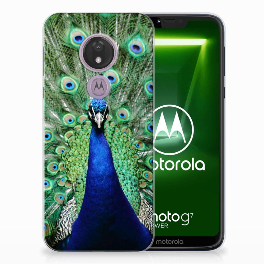 Motorola Moto G7 Power TPU Hoesje Pauw