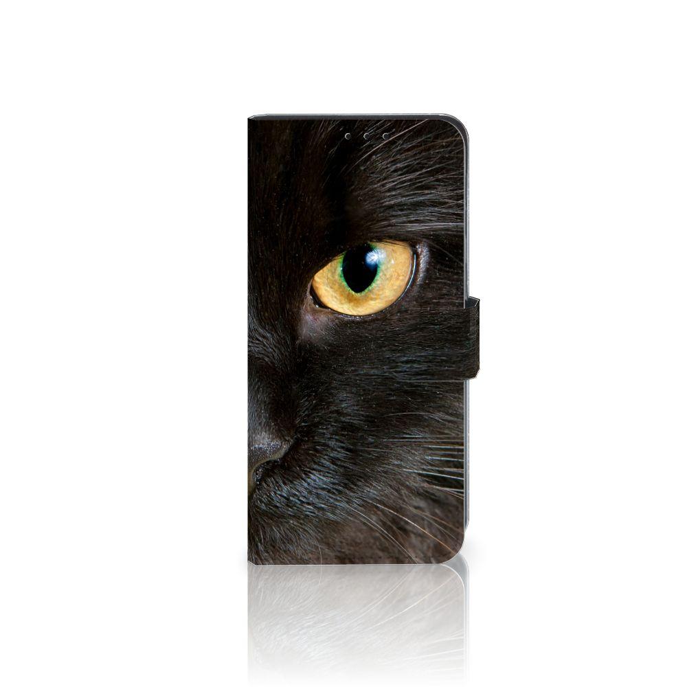 Huawei Mate 20 Lite Uniek Boekhoesje Zwarte Kat