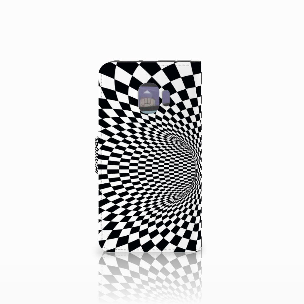 Samsung Galaxy J2 Pro 2018 Bookcase Illusie