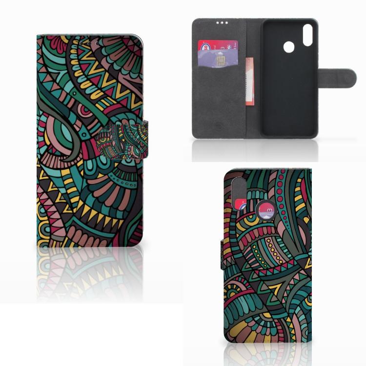 Huawei P Smart Plus Telefoon Hoesje Aztec