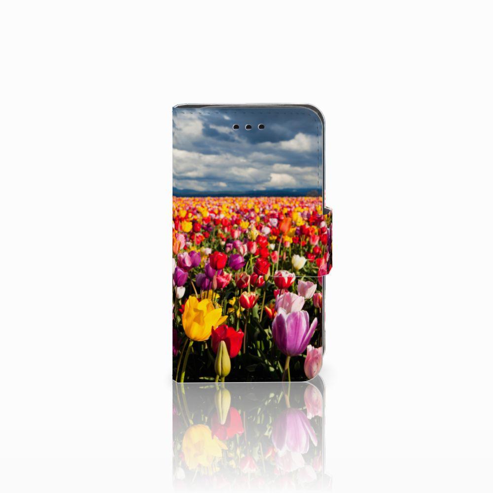 Samsung Galaxy Trend 2 Uniek Boekhoesje Tulpen