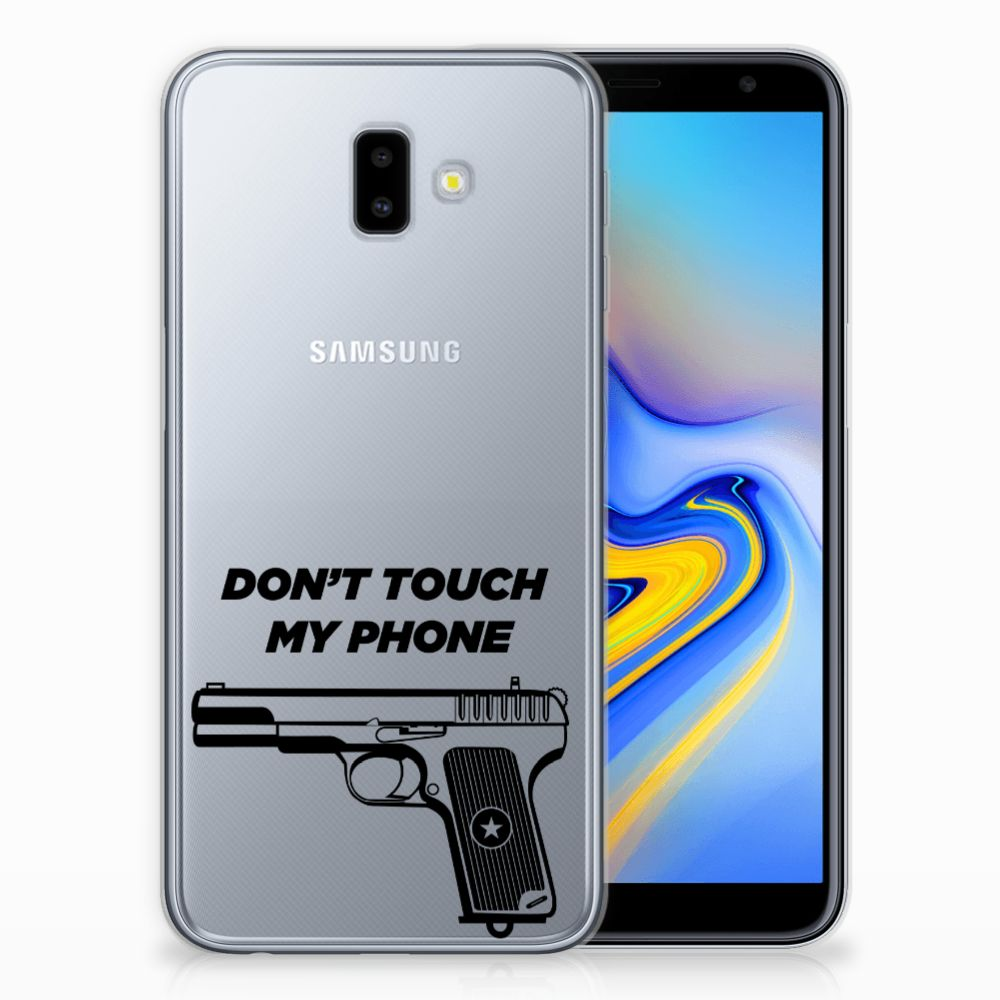 Samsung Galaxy J6 Plus (2018) Silicone-hoesje Pistol DTMP