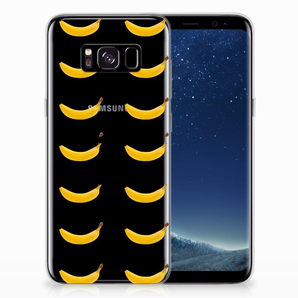 Samsung Galaxy S8 Siliconen Case Banana