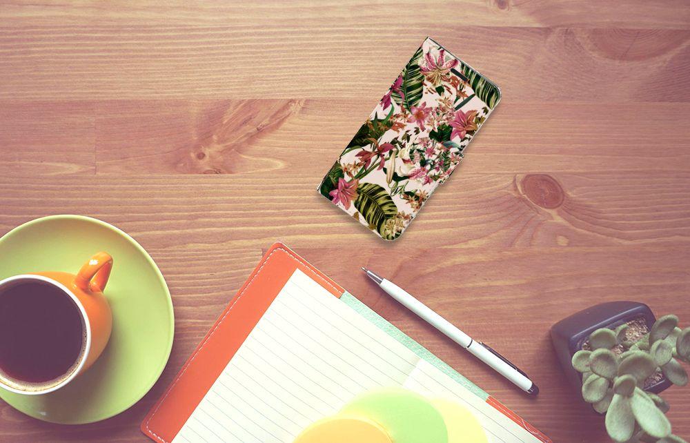 Acer Liquid Z530   Z530s Hoesje Flowers