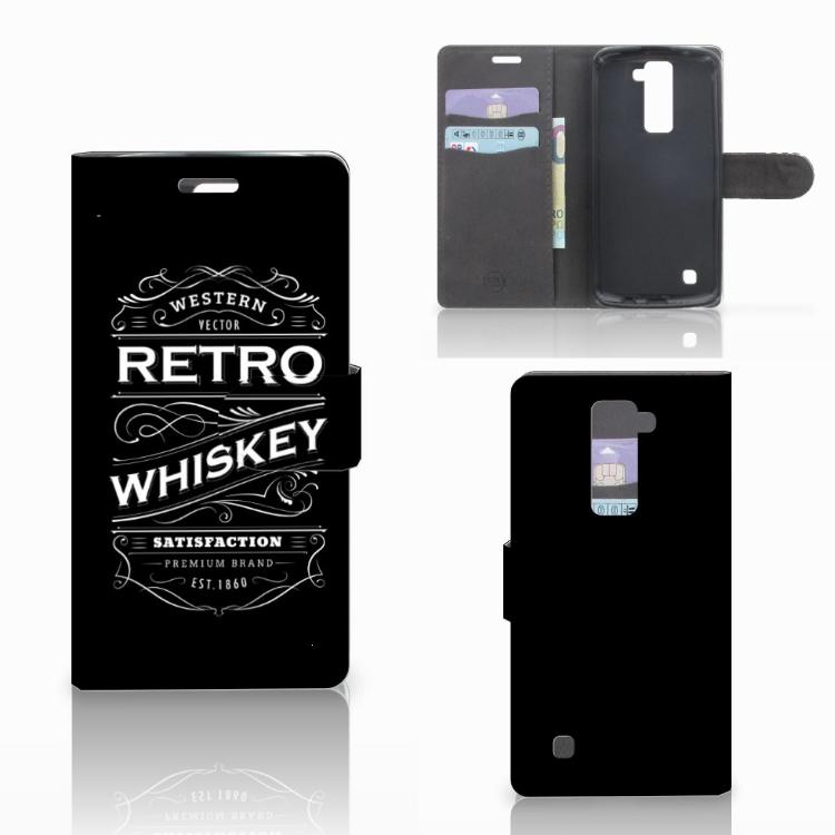 LG K10 2015 Book Cover Whiskey