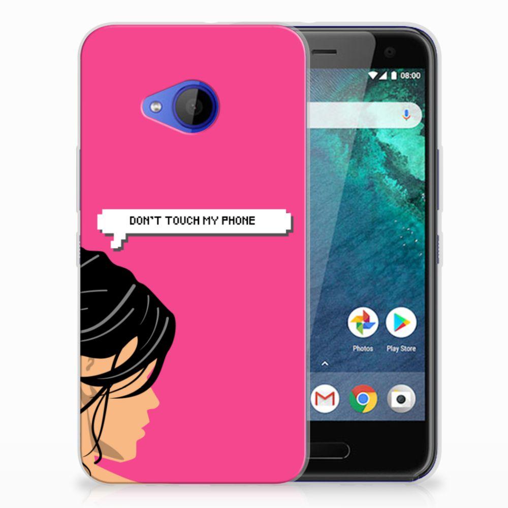HTC U11 Life Uniek TPU Hoesje Woman DTMP