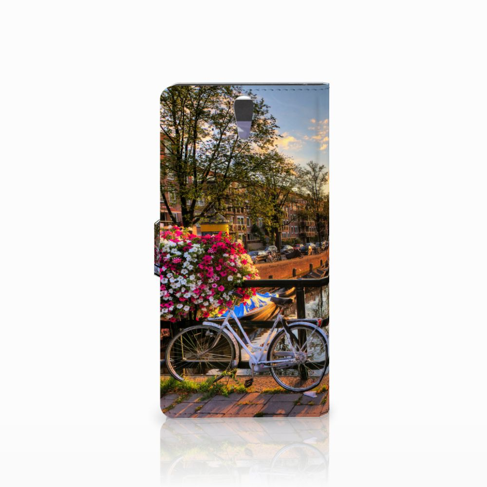 Sony Xperia C5 Ultra Flip Cover Amsterdamse Grachten