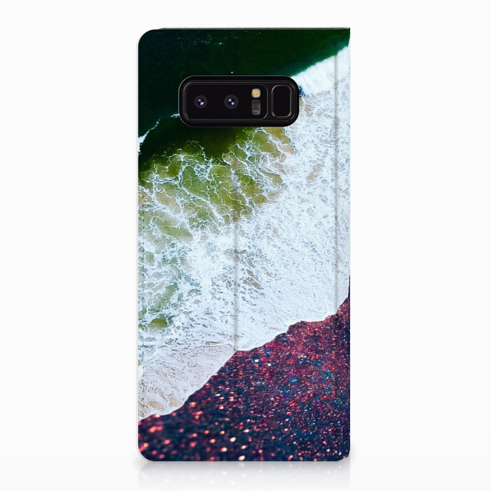 Samsung Galaxy Note 8 Stand Case Sea in Space