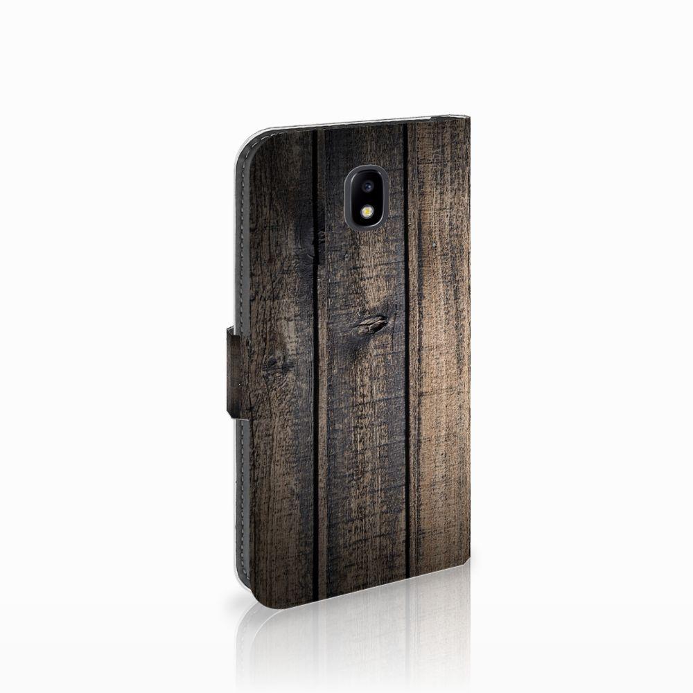 Samsung Galaxy J5 2017 Boekhoesje Design Steigerhout