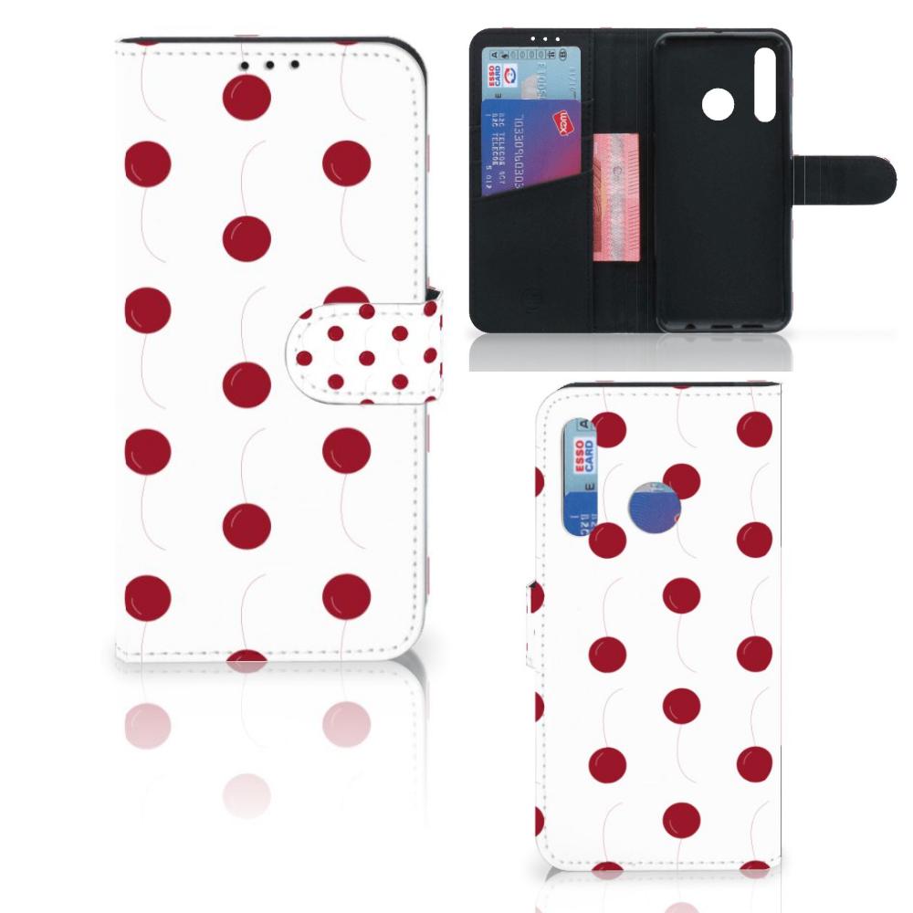 Huawei P Smart 2019 Book Cover Cherries