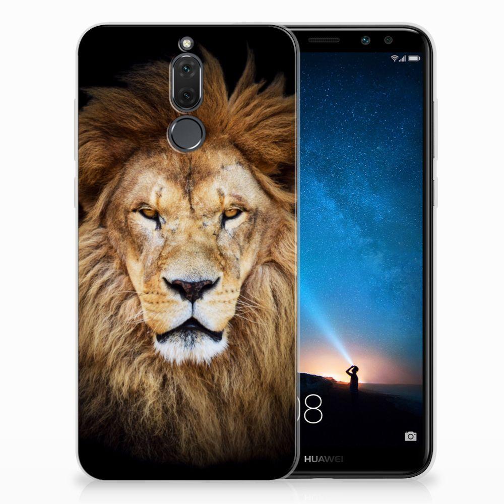 Huawei Mate 10 Lite TPU Hoesje Design Leeuw