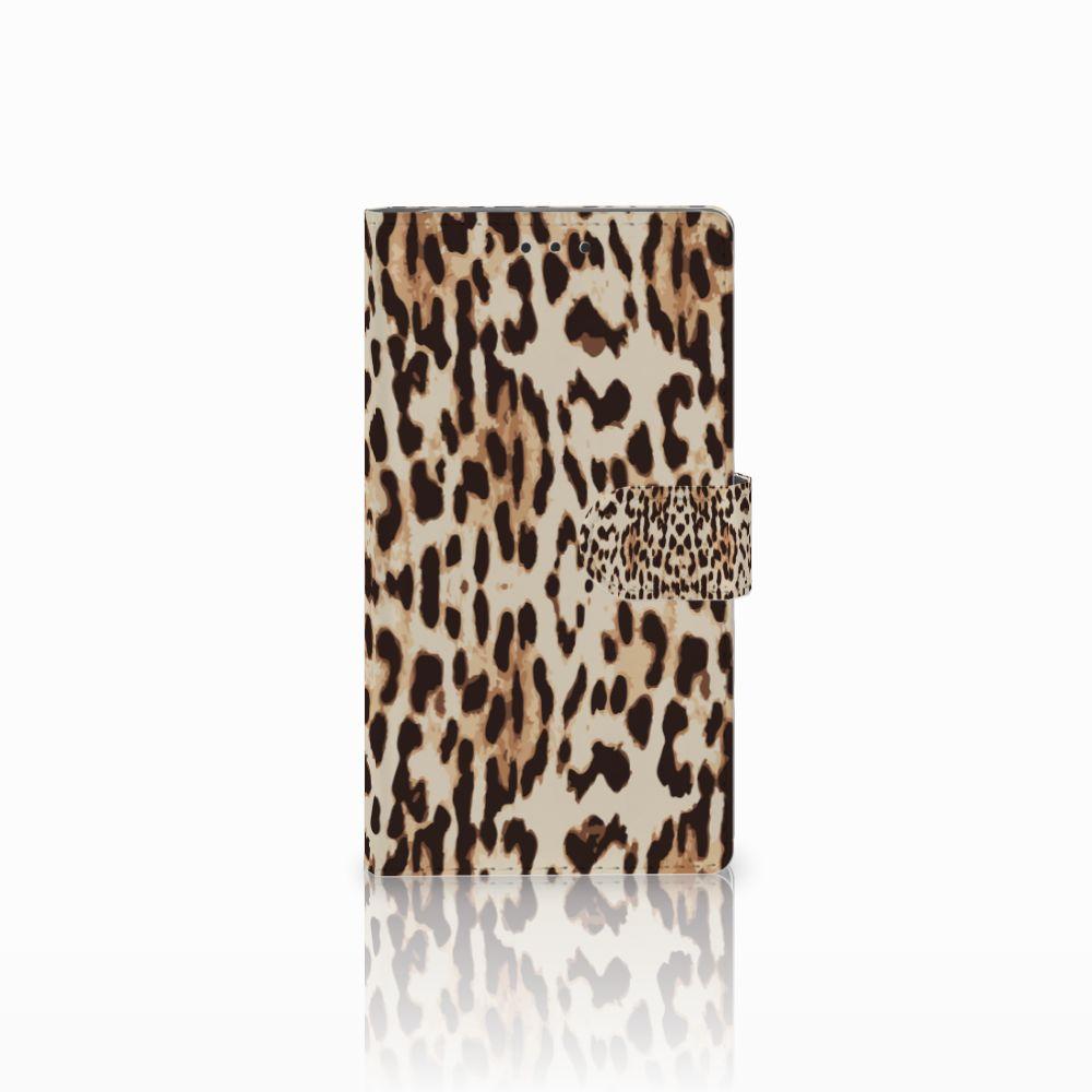 Samsung Galaxy Note 3 Uniek Boekhoesje Leopard