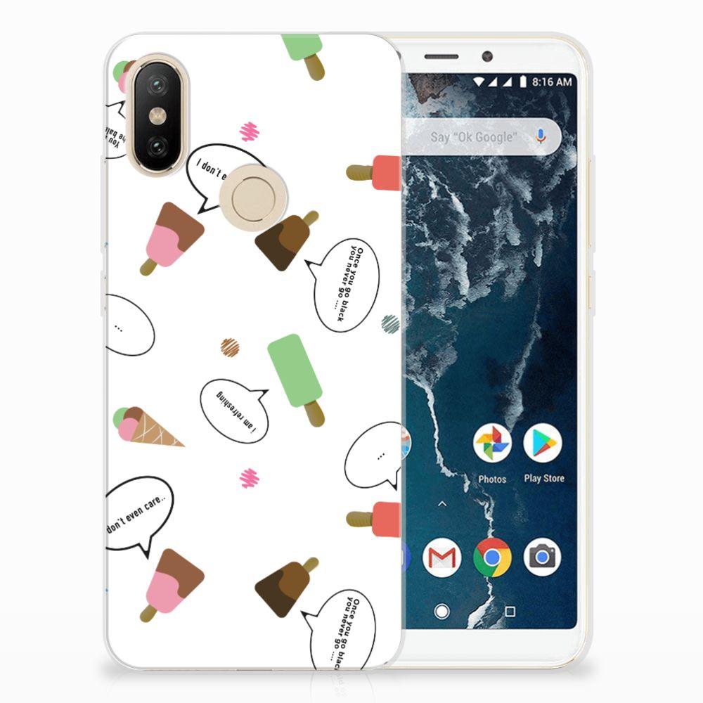 Xiaomi Mi A2 Siliconen Case IJsjes