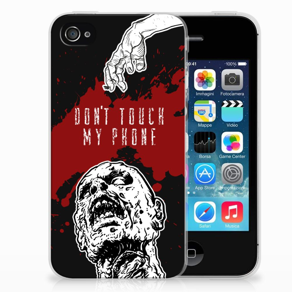 Apple iPhone 4 | 4s TPU Hoesje Design Zombie Blood