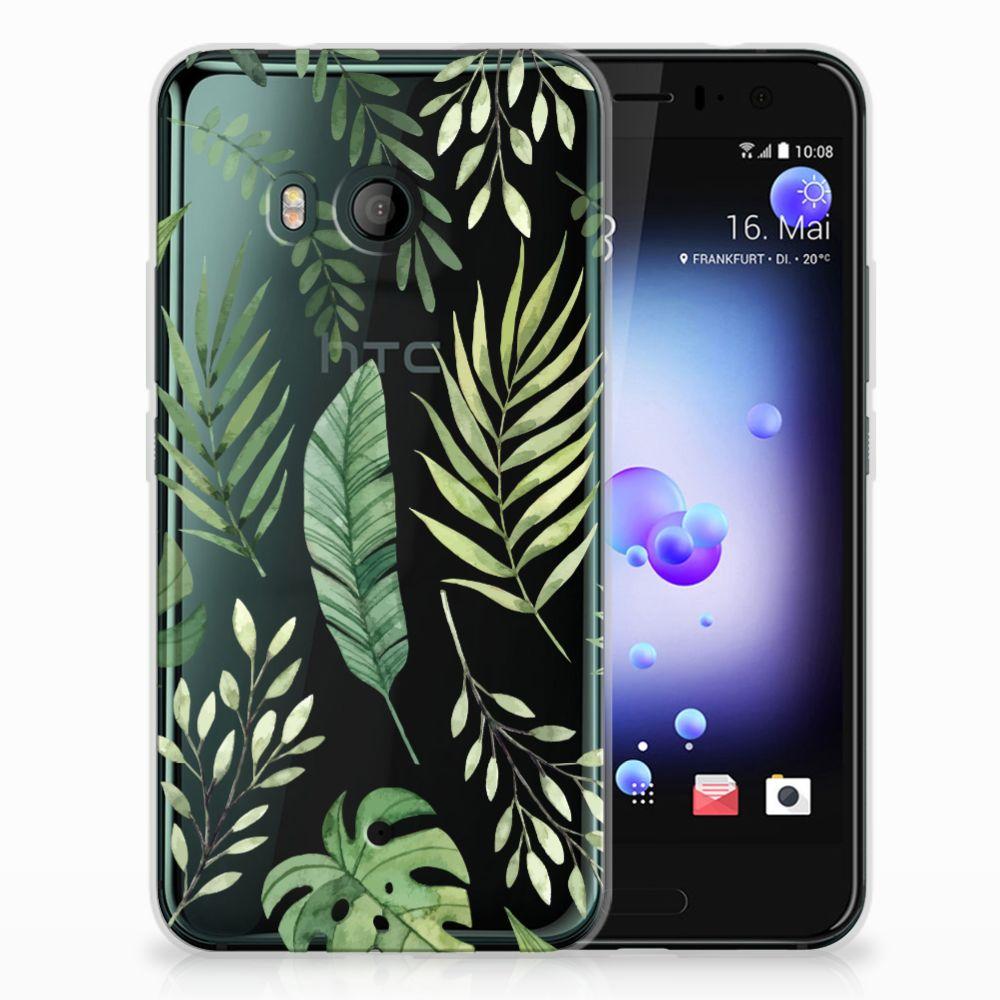 HTC U11 TPU Case Leaves