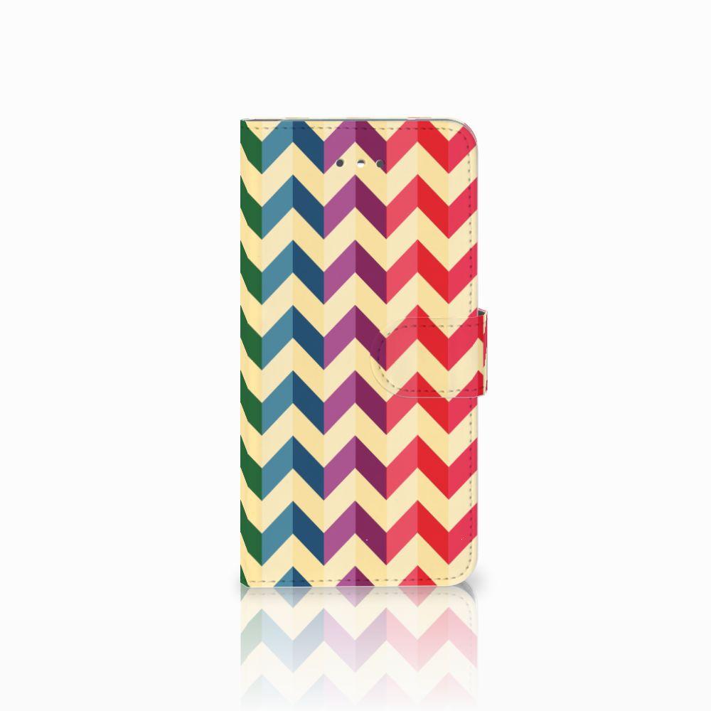 LG Nexus 5X Uniek Boekhoesje Zigzag Color