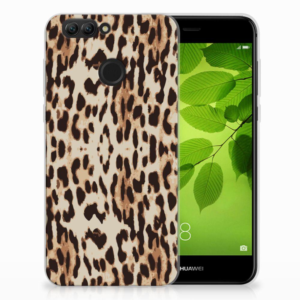 Huawei Nova 2 TPU Hoesje Leopard