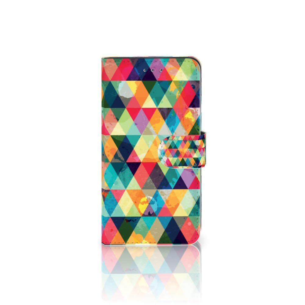 Samsung Galaxy J4 2018 Uniek Boekhoesje Geruit