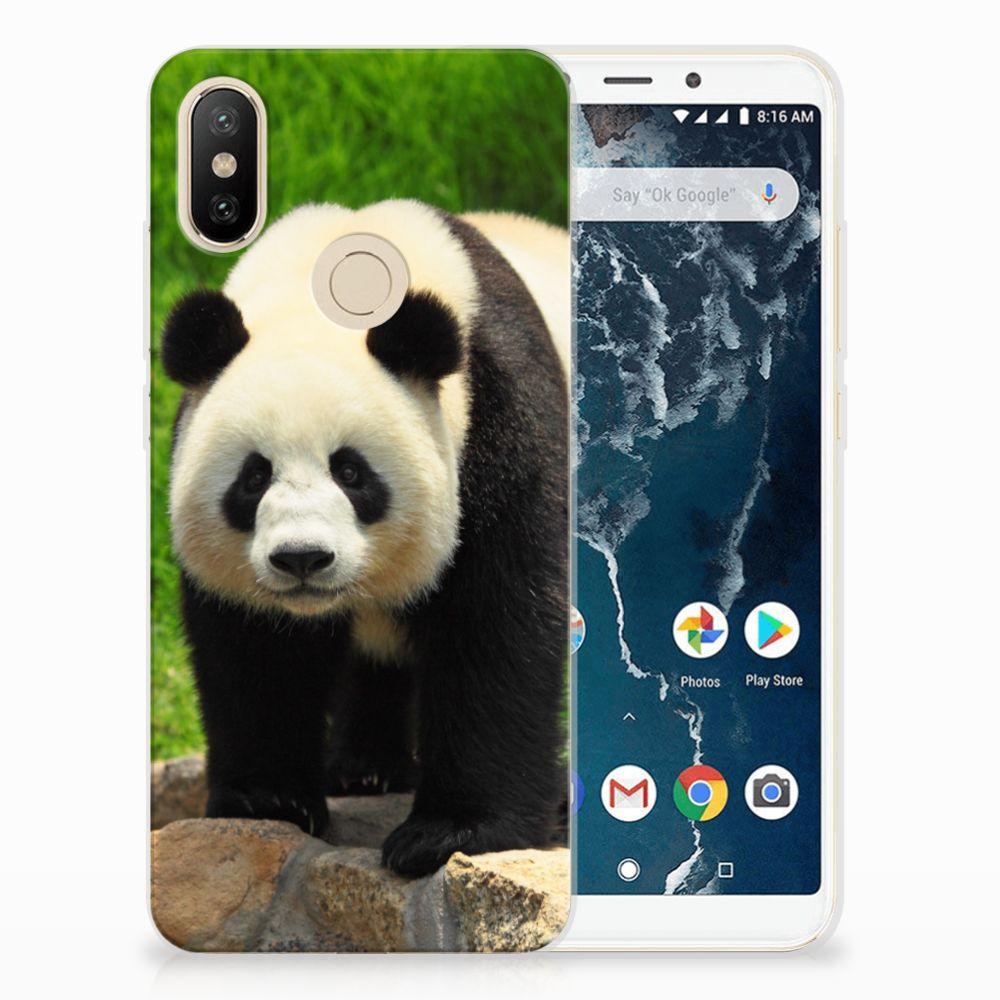 Xiaomi Mi A2 TPU Hoesje Panda
