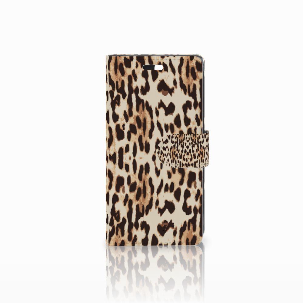 Huawei Y635 Uniek Boekhoesje Leopard