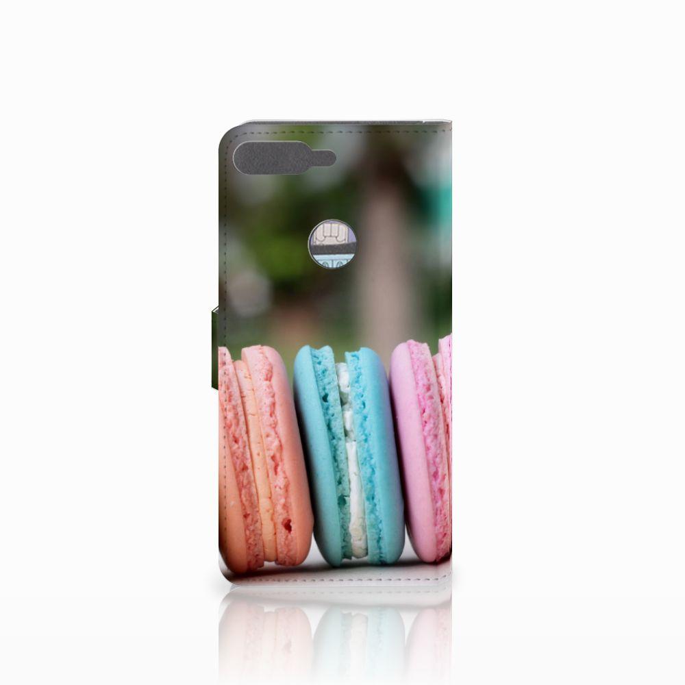 Huawei Y7 2018 Book Cover Macarons