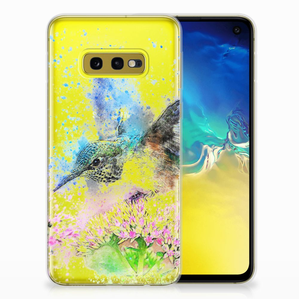 Hoesje maken Samsung Galaxy S10e Vogel