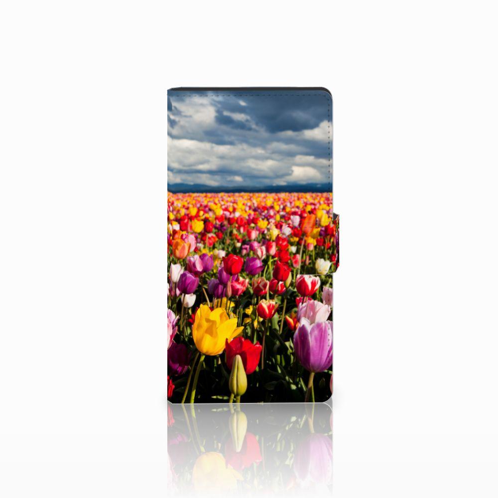 Sony Xperia C4 Uniek Boekhoesje Tulpen
