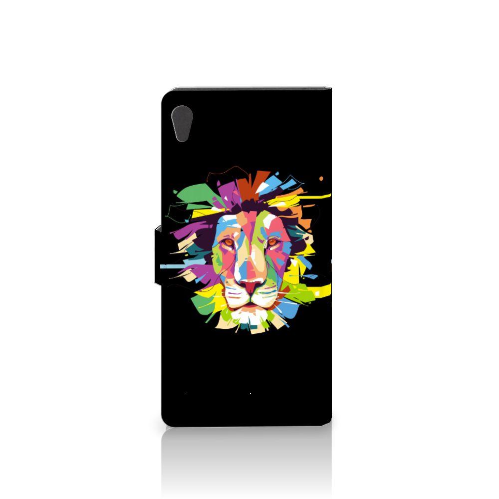 Sony Xperia XA Ultra Leuke Hoesje Lion Color